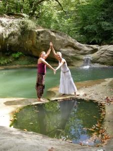 Spirituele reis Frankrijk, samen in de natuur bij het water