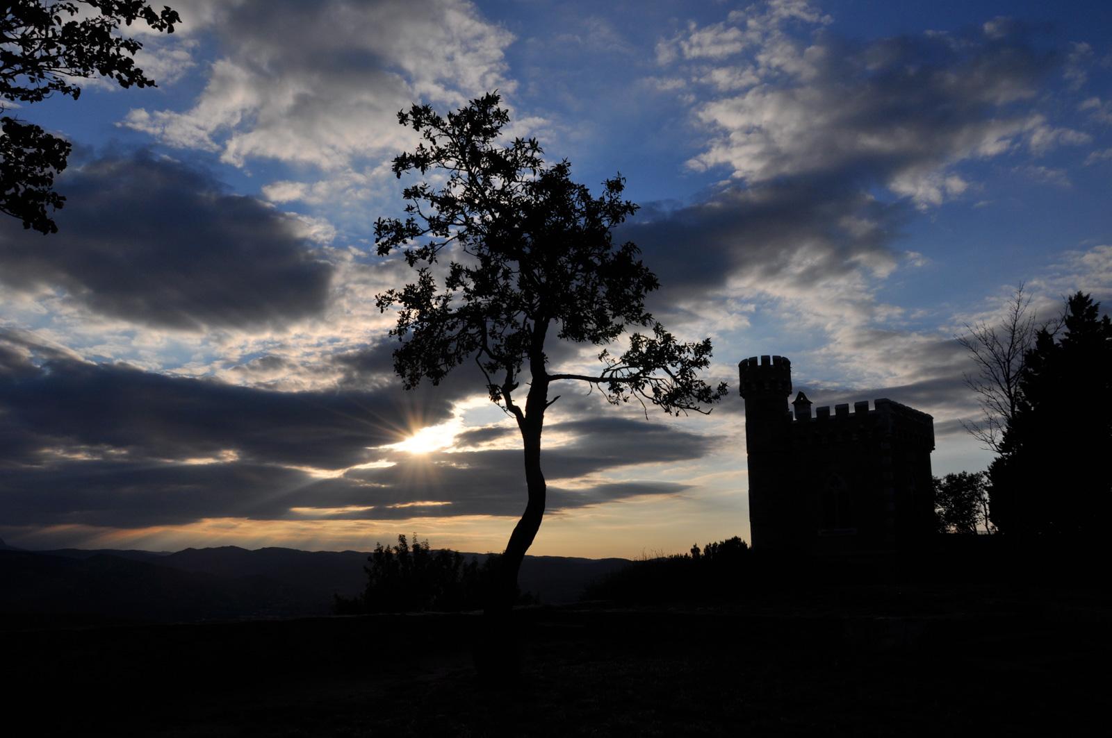 De Tour Magdala in Rennes-le-Chateau Frankrijk