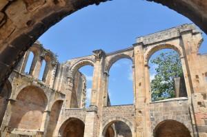 Frankrijk spirituele reis. Hier de Abbey van Alet-les-Bains