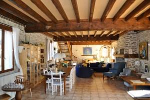 Frankrijk spirituele reis, een kijk in het huis waar verbleven wordt