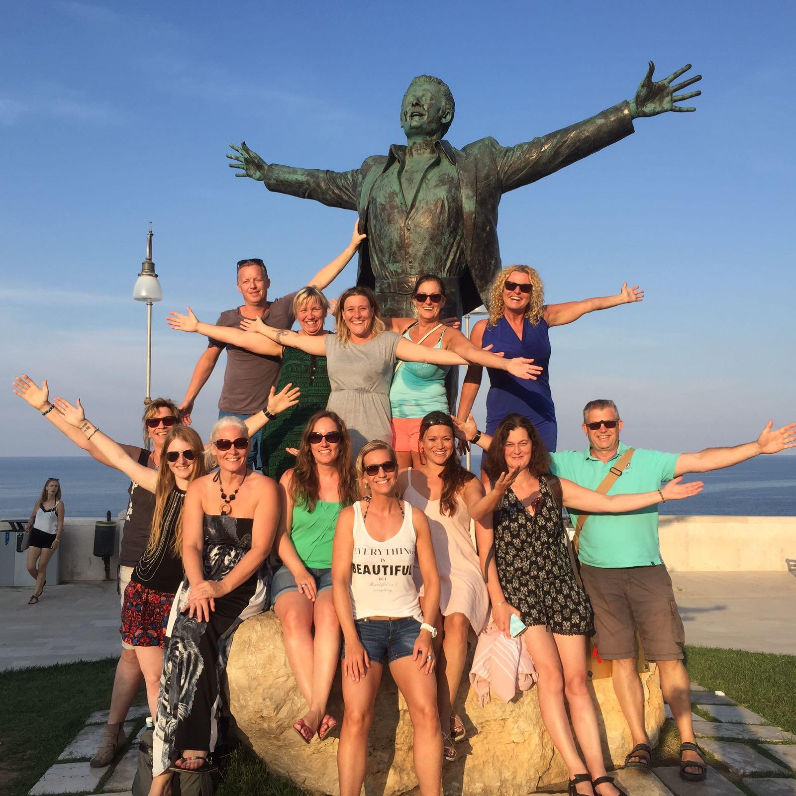 DEVINUS groepsfoto tijdens een spirituele reis