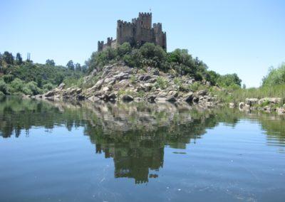 Almourol_Castle DEVINUS spirituele reis Portugal