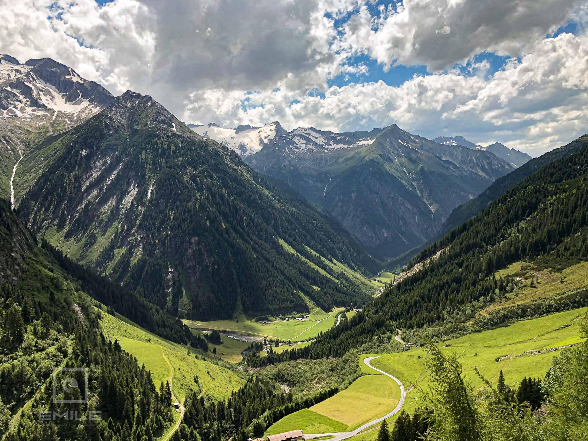 Dal foto Stillupper DEVINUS Natuurreis Oostenrijk